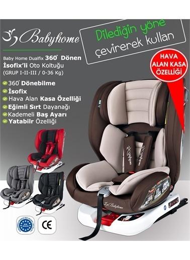 Baby Home Baby Home 900 Dualfix 0 36 Kg İsofixli 360 Dönebilen Oto Koltuğu Kırmızı
